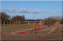 NT3271 : New Borders railway line, Millerhill by Jim Barton