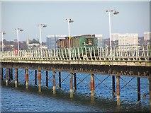 SU4208 : The train on Hythe Pier by David Martin