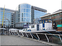 TQ3780 : The floating church in Docklands by Stephen Craven