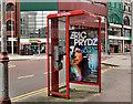 J3374 : Telephone box, Belfast (3) by Albert Bridge