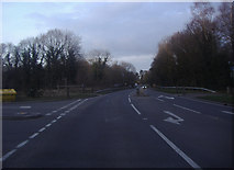 SU9946 : Junction of Horsham Road and Trunley Heath Road by David Howard