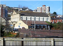 SS6593 : Grade II (star) listed former Bethesda Chapel, Swansea by Jaggery