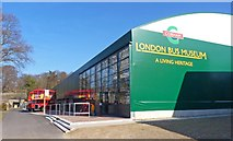 TQ0762 : London Bus Museum at Brooklands by Mike Smith