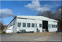 TQ0762 : Wellington Hangar at Brooklands Museum by Mike Smith