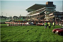 SO9524 : The Main Grandstand at Cheltenham Racecourse by Jeff Buck