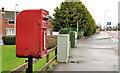 J3664 : Letter box, Carryduff by Albert Bridge