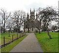SJ9398 : St Peter's church by Gerald England