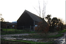 TR2063 : Old Barn at Chislet Business Park by N Chadwick