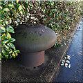 J3675 : Mooring bollard, Belfast by Rossographer