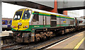 J3473 : Irish Rail locomotive, Belfast by Albert Bridge