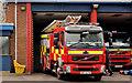 C8532 : Fire appliances, Coleraine by Albert Bridge