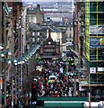 NS5965 : Buchanan Street and St Enoch Square by Thomas Nugent