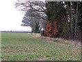 SU0820 : Shelter belt, Toyd Farm by Maigheach-gheal