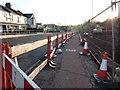 SX8759 : Pedestrian footpath, Tweenaway Road Widening by Tom Jolliffe