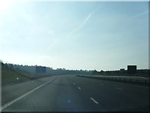 SK1301 : M6 Toll southbound near Weeford Park by Colin Pyle