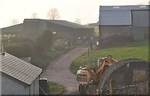ST0215 : Whitnage : Farm Buildings by Lewis Clarke