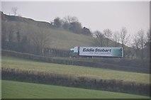 ST0215 : Mid Devon : Fields & Link Road by Lewis Clarke
