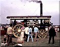 NZ2907 : A Fowler Steam Traction Engine at Croft (1970) by Stanley Howe