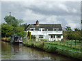 SJ6558 : Canalside house near Church Minshull, Cheshire by Roger  Kidd
