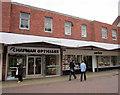 SO9670 : Bromsgrove High Street  Chapman Opticians & Savers by Roy Hughes