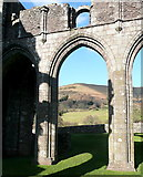 SO2827 : View from Llanthony Priory by Graham Horn