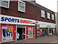 SO9670 : Bromsgrove High Street  Sports Direct.Com & Mothercare by Roy Hughes