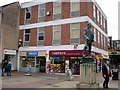 SO9670 : Bromsgrove High Street  Greggs & Timpson by Roy Hughes