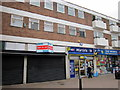 SO9570 : Bromsgrove High Street  Shop to Let, Martins & The Works by Roy Hughes