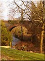 NX4252 : Bridge over Milldriggan Burn by Andy Farrington