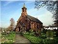 SJ4555 : St Mary's Church, Coddington by Jeff Buck
