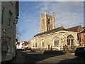 SU7682 : Church at Henley-on-Thames by Peter S
