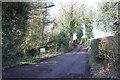 SJ8768 : Entering Tidnock Lane by Peter Turner