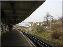 TQ2182 : Willesden Junction: platform 1 by Christopher Hilton