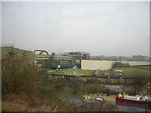 TQ2182 : Industrial area to the south of Willesden Junction, from the Overground train by Christopher Hilton