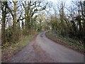 SJ4558 : Chapel Lane near Calveley Hall by Jeff Buck
