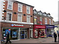 SO9570 : Bromsgrove High Street  Nationwide, British Heart Foundation & The WestBrom by Roy Hughes