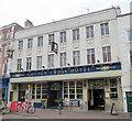 SO9570 : Bromsgrove High Street  The Golden Cross by Roy Hughes