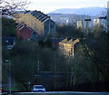 NS3374 : Bouverie from Clune Brae by Thomas Nugent