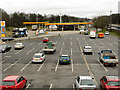 SJ8044 : Keele Service Area, Southbound M6 by David Dixon