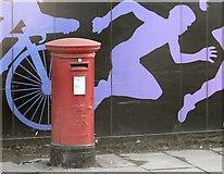 SJ8798 : George V Postbox by Gerald England