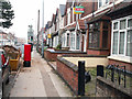 SP0482 : Pillar box and former post office, Raddlebarn Road by Phil Champion