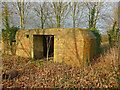SU0563 : Horton - Pillbox by Chris Talbot