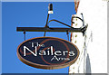 SO9474 : The Nailers Arms (2) - sign, 62 Doctors Hill, Bournheath by P L Chadwick
