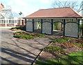 ST3087 : Restored tea house, Belle Vue Park, Newport by Jaggery
