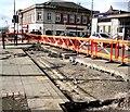 SJ9494 : Clarendon Street Roadworks by Gerald England