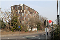 TQ2182 : Abandoned Offices, Old Oak Lane by Martin Addison