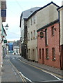 SO0428 : Matthews Jeweller, Lion Street, Brecon by Jaggery