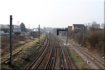 TQ2182 : View From Old Oak Common Lane by Martin Addison