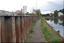 TM1543 : Gipping Way by the River Orwell by N Chadwick