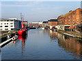 SO8217 : Llanthony Wharf by David Dixon